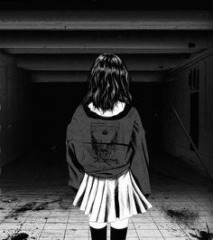 Anime Art Girl, Manga Girl, Manga Anime, Dark Anime Girl, Gothic Anime, Aesthetic Art, Aesthetic Anime, Photo New, Japon Illustration