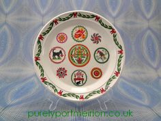 Portmeirion Spirit Of Christmas 8.5 Inch Plate