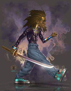 The art of Mshindo Kuumba.