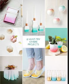 8 must try ombré projects