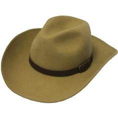 2e927d2a54c Henschel Pecan Wool Outback Hat