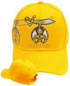 ad19448998e Buy Caps and Hats Shriner Baseball Shriners Hat Masonic Mens One Size  Orange Buy Caps and