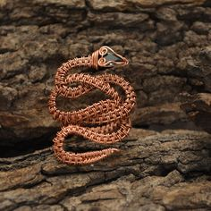 Adjustable Serpent Ring   JewelryLessons.com