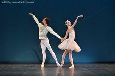 Oxsana Skorit in the 'Diamonds' pas de deux from Balanchine's 'Jewels' Photo; Marinsky Ballet