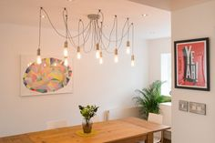 Starkey kroonluchter, in nikkel Room, Industrial Trend, Front Room, Ceiling Lights, Chandelier Lighting, House Inspiration, Inspiration, Light, Chandelier