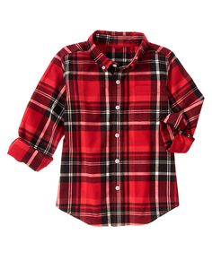 Plaid Shirt at Gymboree