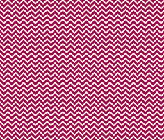 berry chevron fabric by amybethunephotography on Spoonflower - custom fabric