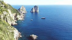 The most famous view from Capri. It is a must have pic for a trip along the gulf of Naples