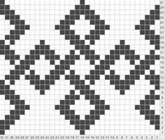 Wayuu Mochilla Bag Chart Ve 20 Adet Wayu - Diy Crafts Crochet Chart, Diy Crochet, Crochet Stitches, Tapestry Crochet Patterns, Weaving Patterns, Cross Stitch Pattern Maker, Cross Stitch Patterns, Knitting Charts, Knitting Patterns