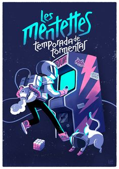 Gig Poster: Les Mentettes on Behance