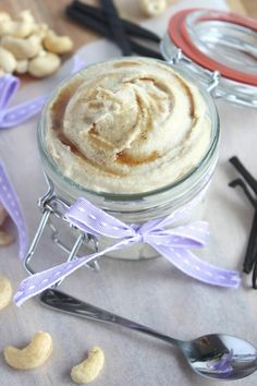 Vanilla Cashew Cream -   So light, so creamy, so quick and easy to prepare.   It also happens to be all natural and secretly healthy, raw, dairy free, vegan, gluten free, paleo friendly but most importantly down right delicious!