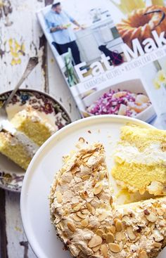 """World's Best Cake"" aka Kvæfjordkake by bakersroyale- made as a round cake - easier to serve and transport"