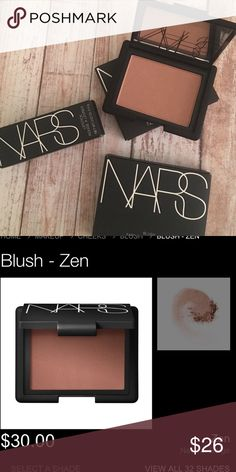 NARS BLUSH ZEN The ultimate authority in blush, NARS offers the industry's most iconic shades for cheeks. Natural, healthy-looking color that immediately enlivens the complexion. A light application of even the highest-intensity hues delivers a natural-looking flush.  Silky texture in matte and shimmering shades Micronized powder ensures soft, blendable application Iconic NARS shades NARS Makeup Blush