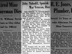 John Anton Nahodil Dies.