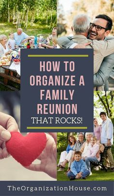 Want to host a successful family reunion? Here is how to organize a family reunion people will be talking about for years to come! Use these ideas to organize a successful family reunion that's memorable for years to come! Family Reunion Activities, Youth Group Activities, Family Games, Family Reunions, Family Reunion Food, Family Reunion Decorations, Youth Groups, Group Games, Planning A Family Reunion