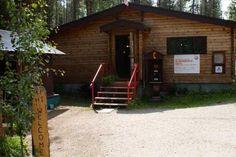 HI-Athabasca Falls Wilderness Hostel in Jasper National Park, AB Jasper National Park, National Parks, Hostel, Wilderness, House Styles, Fall, Autumn, Fall Season