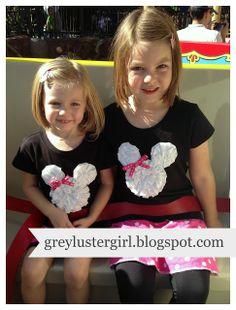 DIY Disneyland Shirts for the Whole Family |