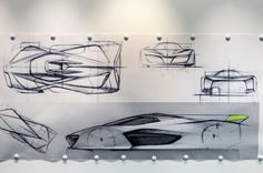 Pininfarina H2 Speed Concept Sketches 02