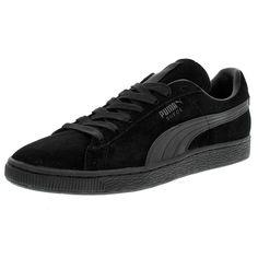 Puma - Men's Suede Classic + LFS Low Sneaker - Black