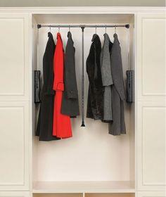 Closet Rods Walmart Hafele Wardrobe Lift  Closet Ideas  Pinterest  Bedroom Wardrobe