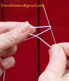 frivolité à l'aiguille : exercice 1 - abracadafil.com