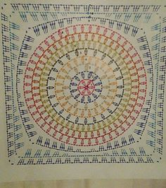 Granny crochet square