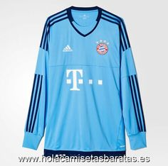 The unique FC Bayern München Goalkeeper Shirt returns to the iconic main  color light blue fb13aebe0d338