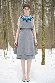 Vika Gazinskaya | Fall 2013 Ready-to-Wear Collection | Style.com