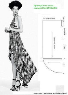 Картинки по запросу платье с открытой спиной выкройка