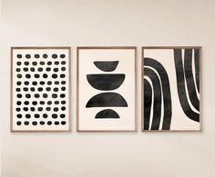Modern Art Prints, Modern Wall Art, Wall Art Prints, Mid Century Wall Art, Mid Century Modern Art, Geometric Wall Art, Abstract Wall Art, Geometric Prints, Abstract Shapes