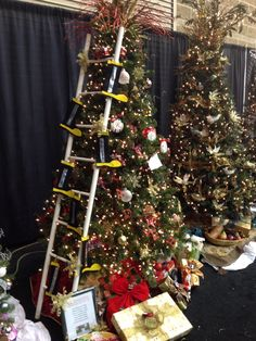 Fire department themed tree