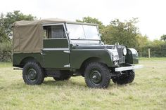 "1952 Land Rover Series 1. 80"" - Silverstone Auctions"