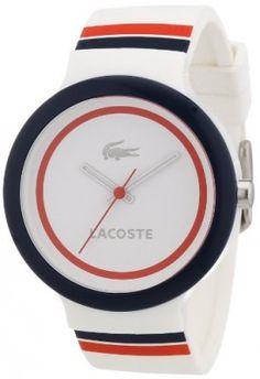bce0fe2488e Relógio Lacoste Goa White Unisex Watch 2020034  Relógio  Lacoste