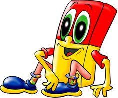les meli melo de mamietitine - Page 42 I School, Back To School, Preschool Name Tags, Meli Melo, Cute Clipart, Gifs, Crayon, Paper Goods, Cover Photos