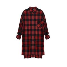 Yoins Checked Long Sleeve Shirt (135 HRK) ❤ liked on Polyvore featuring tops, shirts, dresses, flannels, long sleeves, black, checked flannel shirt, long sleeve flannel shirts, flannel shirts and plaid flannel shirt