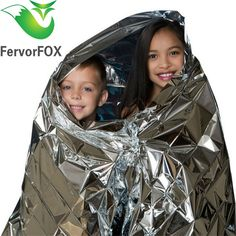 210*140CM Water Proof Emergency Survival Rescue Blanket Foil Thermal Space First Aid Sliver Rescue Curtain Outdoor