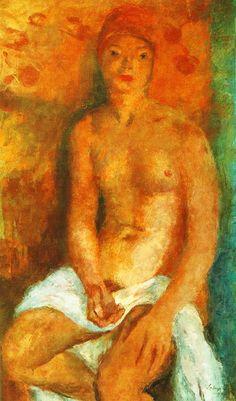 Szőnyi, István (1894-1960) - Nude, 1936 Sculpture, Painting & Drawing, Art Photography, Drawings, Nude, Paintings, Artists, Fine Art Paintings, Photography