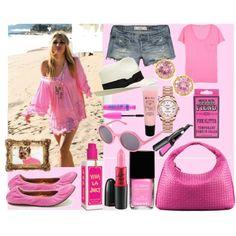a VERY pink summer!