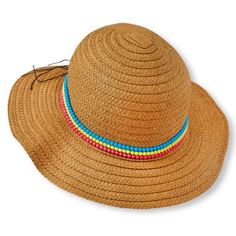 beaded sunhat