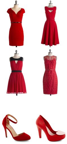 {Valentine's Day Inspiration} Lovely date night dresses...