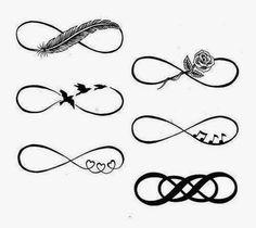 Tattoos! Bff Tattoos, Music Tattoos, Feather Tattoos, Time Tattoos, Wrist Tattoos, Foot Tattoos, Tatoos, Infinity Symbol Art, Infinity Tattoo On Wrist