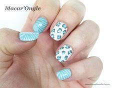 Grrrr (cheetah prints, animal prints, zebra prints, graou nails)