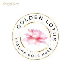 Zen Logo, Yoga Logo, Lotus Logo, Circular Logo, Flower Logo, Elegant Logo, Flower Cookies, Beauty Logo, Life Coaching