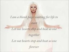 Christina Aguilera - Blank Page (Lyrics) HD 1080p