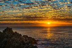 Fransmanshoek sunrise - near Vleesbaai, South Africa. Photo copyrights © Joggie van Staden of African Mosaic.
