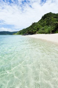 White sand beach and impossible clarity, Amami, Kagoshima