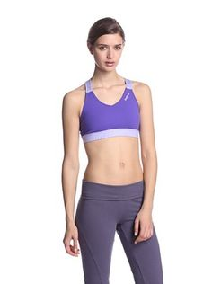 10% OFF Reebok Women's Own Beat Sport Bra (Fearless Purple)