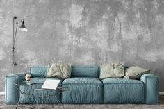 The Interior Decor Trends That Designers Can't Help Loving Interior Decorating, Interior Design, Lucca, Love Seat, Couch, Throw Pillows, House Styles, Bed, Furniture