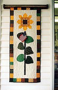 sunflower door banner