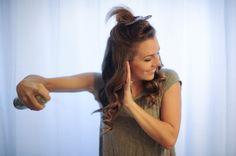 Hair Curling Tutorial from Seattle Wedding Photographer Tonie Christine » TonieChristine